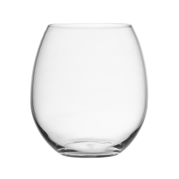 Libbey Vina Stemless Red Wine Glasses, 16.75-Ounce, Clear, Set of 4