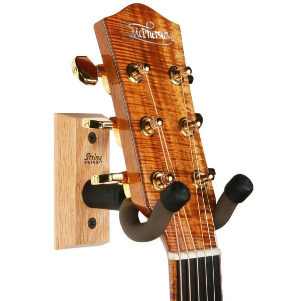 String Swing Hardwood Home & Studio Guitar Hanger