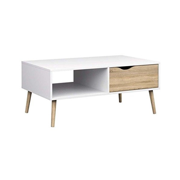 Tvilum Diana Coffee Table in White Oak