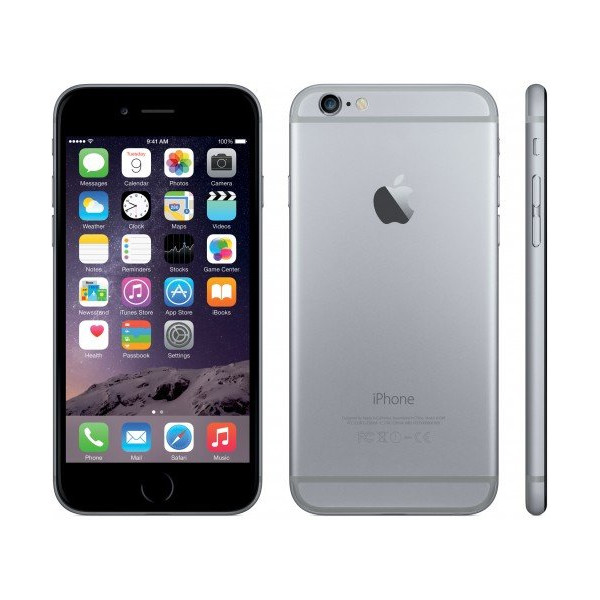 Apple Iphone 6 64GB Gray Factory Unlocked GSM Phone