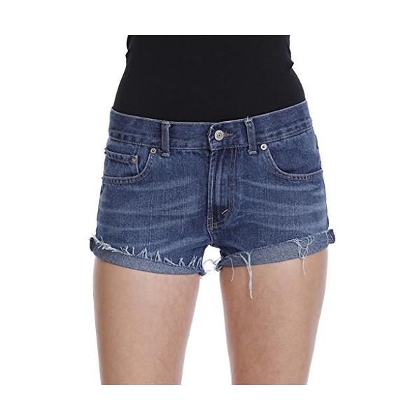 The Lana Short Vintage Levi Denim Shorts High Waisted Cutoff Shorts-Denim-M