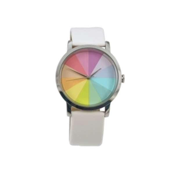 Colorwheel Twelve Watch - White