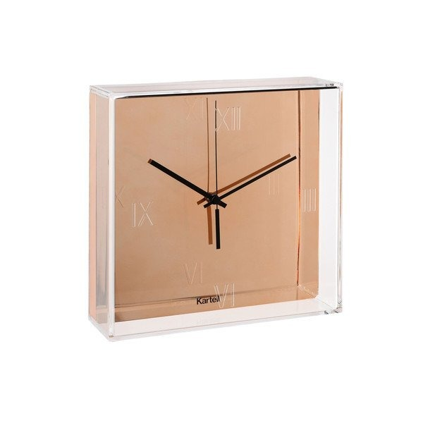 Kartell Tic&Tac Clock by Philippe Starck with Eugeni Quitllet, Pack of 4, Metallic Copper