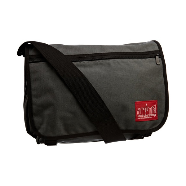 Manhattan Portage Medium Europa Messenger Bag, Gray