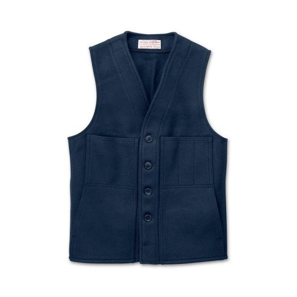 Filson Wool Vest (42, Navy)