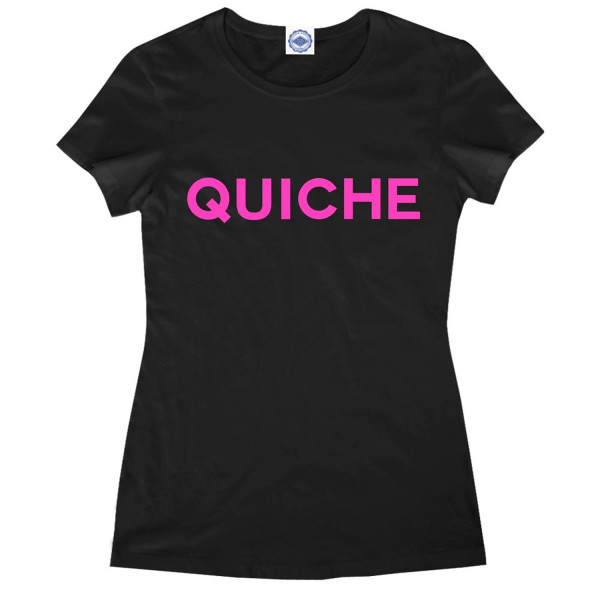 Hank Player 'Quiche' Women's T-Shirt (S, Black)