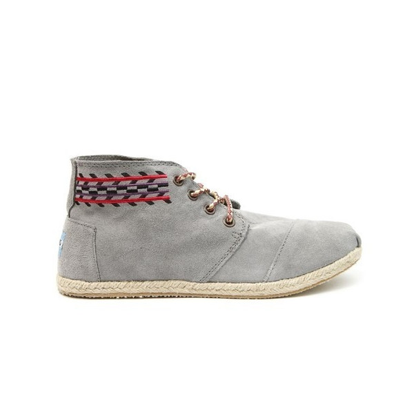 Toms - Womens Gray Alarco Desert Botas Shoes