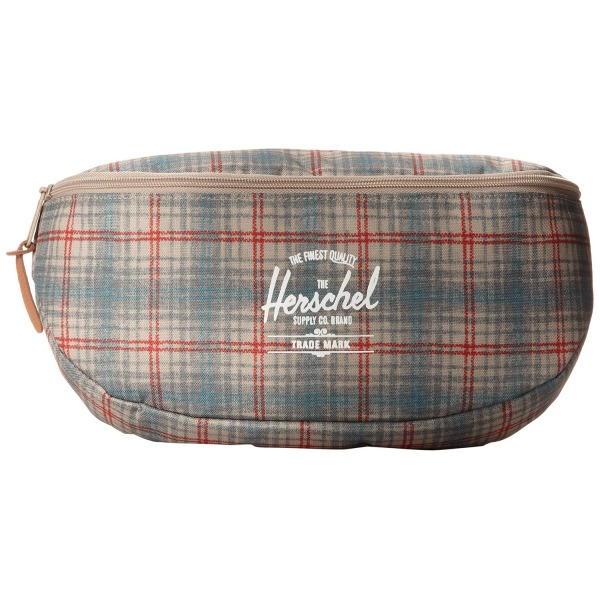 Herschel Supply Co. Sixteen, Grey Plaid, One Size