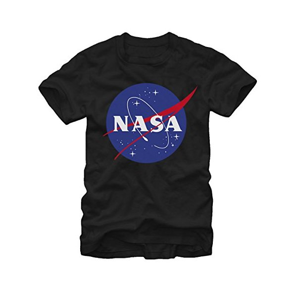 Fifth Sun Nasa Logo Mens Black T-shirt S