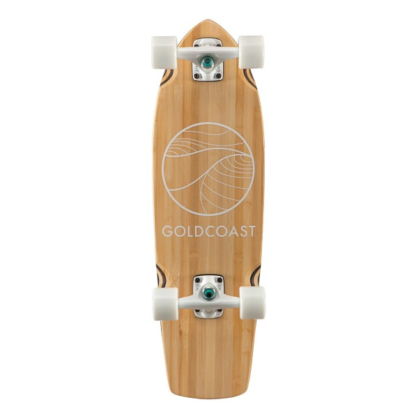 GOLDCOAST Bamboo Complete 28-Inch Cruiser - The Classic Bamboo