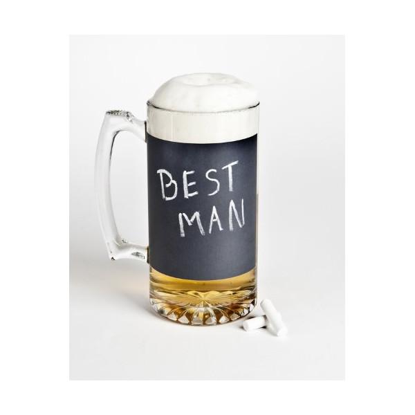 25oz Chalkboard Beer Mug