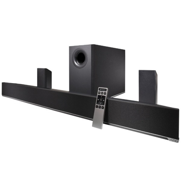 VIZIO 5.1 Soundbar with Wireless Subwoofer and Satellite Speakers