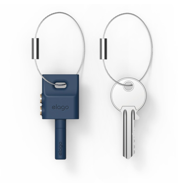 elago Keyring Headphone Splitter, Jean Indigo