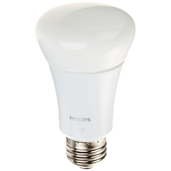 Philips 452722 9W (60-Watt) A19 Hue Lux Connected Home LED Light Bulb