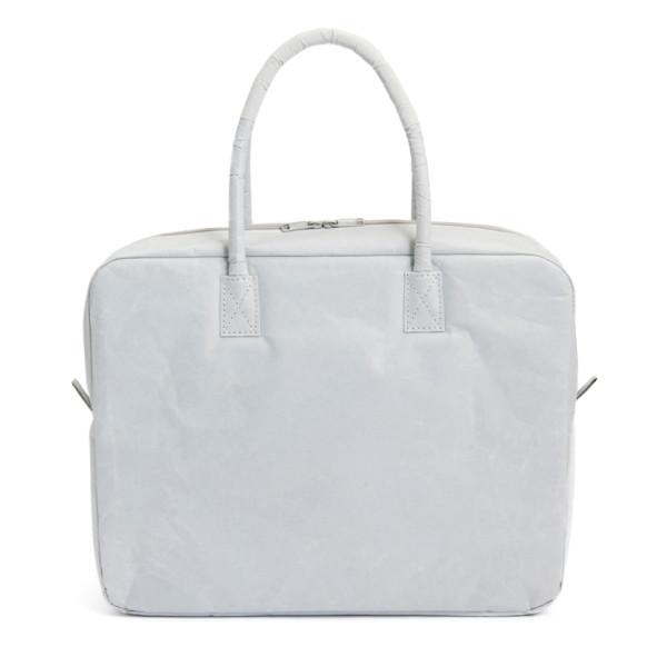 Siwa Paper Briefcase, Grey