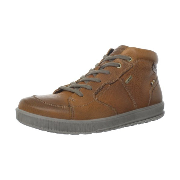 ECCO Men's Bradley GTX Lace-Up Boot,Amber/Cognac,45 EU/11-11.5 M US