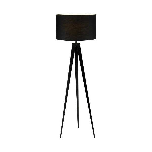 Adesso 6424-01 Director Floor Lamp, Black