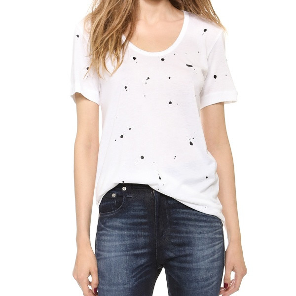 Rag & Bone Splatter Paint Tee