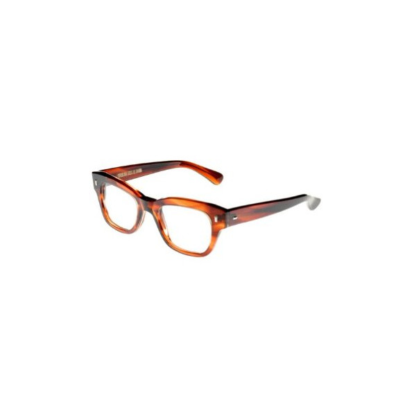Cutler and Gross 0772 Frame Color DT - Dark Tortoise Lens Color Clear Eyeglasses Lens width 50