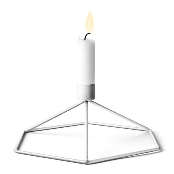 MENU POV Table Candleholder, White