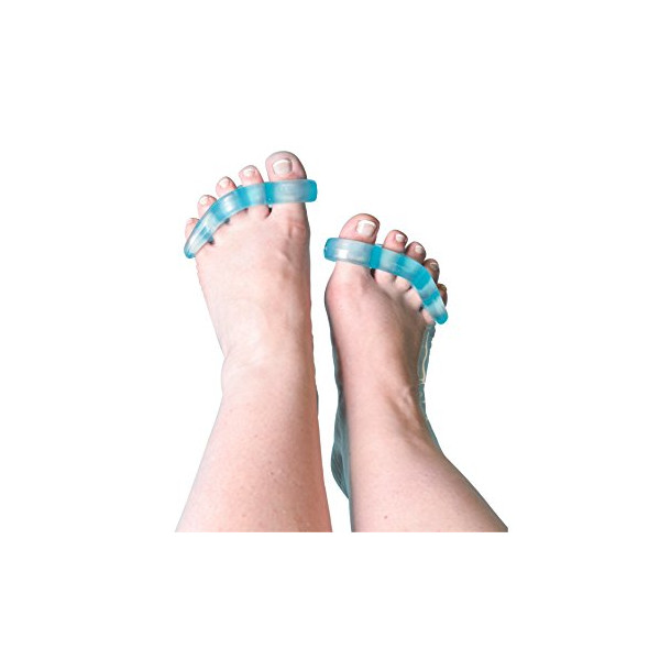Yoga for My Toes © Toe Separator & Toe Stretcher - Provides Foot Pain Relief, and Helps to Reduce the Chance of Bunions, Hammer Toes, Over-lapping Toes, Plantar Fasciitis, Corns, Cramping & More