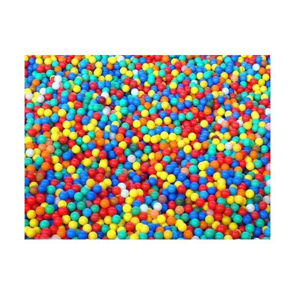 10 Bags Intex 100-Count 49600EP Fun Ballz Ball Pit Balls