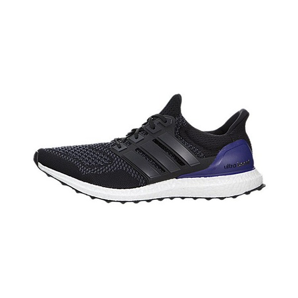 Adidas Men's Ultra Boost Black/Purple Running Shoe 8.5 Men US