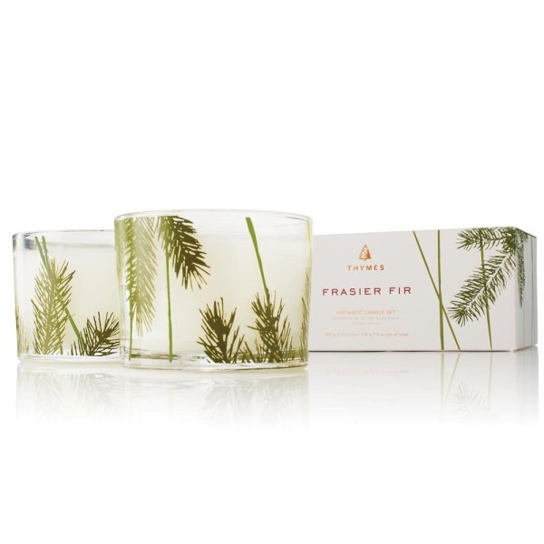 Thymes Frasier Fir Candle Set