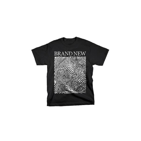 Brand New - Fingerprint - T-Shirt - BLA - SM