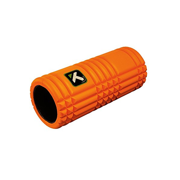 Trigger Point Performance The Grid Revolutionary Foam Roller, Orange