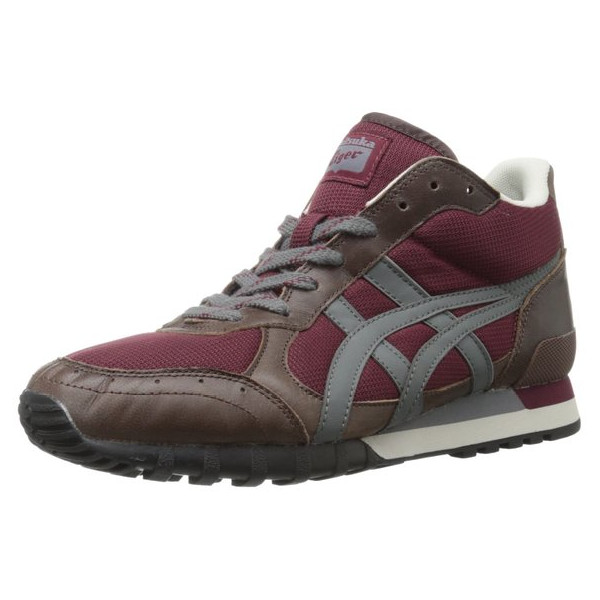 Onitsuka Tiger Men's Colorado Eighty-Five MT D3P2L.2673 Lace-Up Fashion Sneaker,Maroon/Charcoal,9 M US