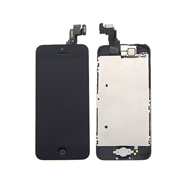 Black LCD Touch Screen Digitizer Assembly with Small Parts for Iphone 5C