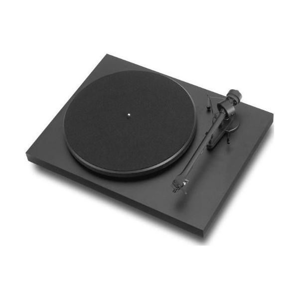 Debut III Matte Black Turntable