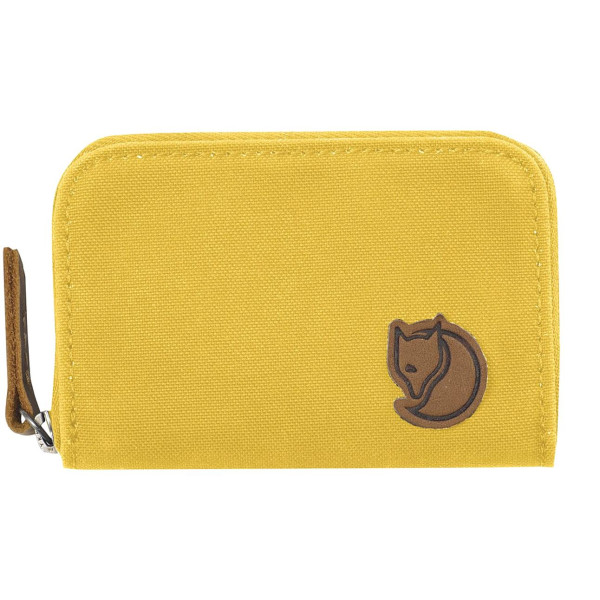 Fjallraven Zip Card Holder, Yellow