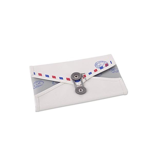 Umbra Envelope Travel Storage Jewelry Organizer, Natural/Charcoal