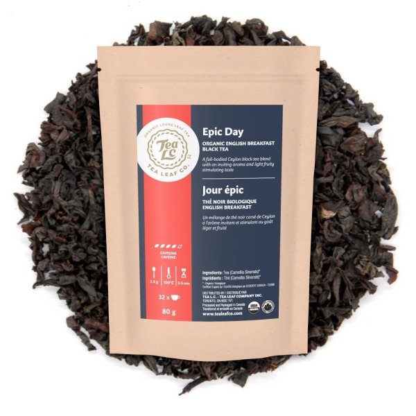 EPIC DAY | Organic English Breakfast Loose Leaf Black Tea