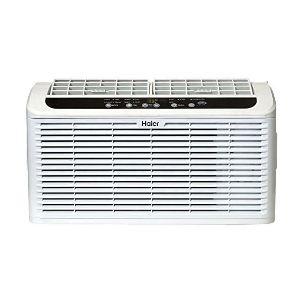 Haier ESAQ406P Serenity Series 6050 BTU 115V Window Air Conditioner with LED Remote Control