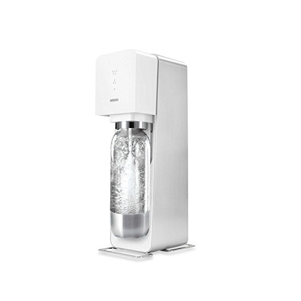 Sodastream SOURCE Metal Edition-WHITE-Starter Kit