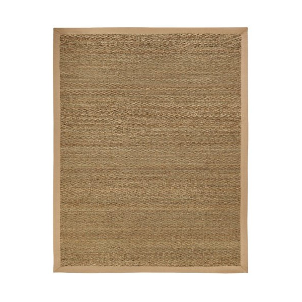 Anji Mountain AMB0119-0058 Sabertooth Seagrass Area Rug, Natural, 5-Foot by 8-Foot