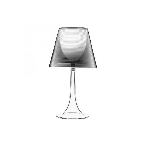 Miss K table lamp - silver clear by Flos