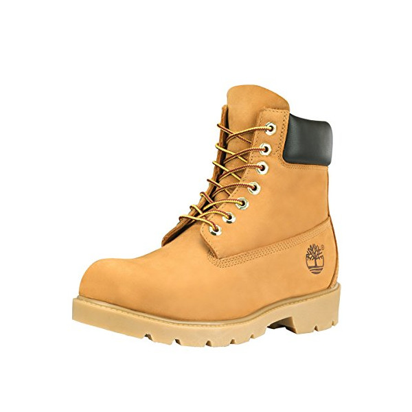 "Timberland Mens Icon 6"" Basic Wheat Nubuck - 10.5 D(M) US"
