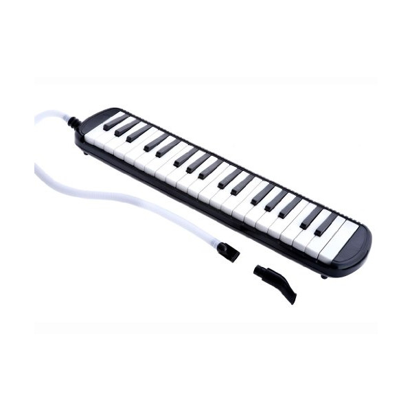 D'Luca M37-BK 37 Key Melodica with Case, Black