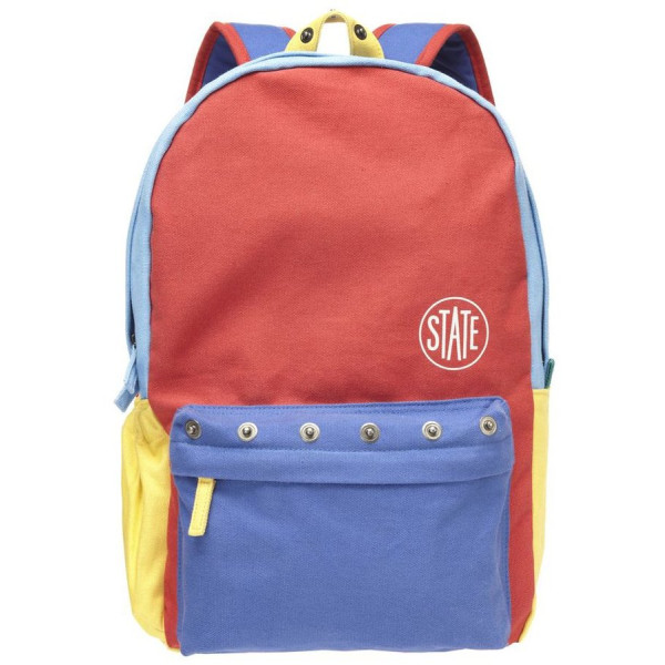 STATE Bags Garfield Backpack, Red/Blue