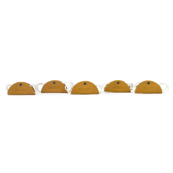 Cord Tacos, Pack of 5, Dijon
