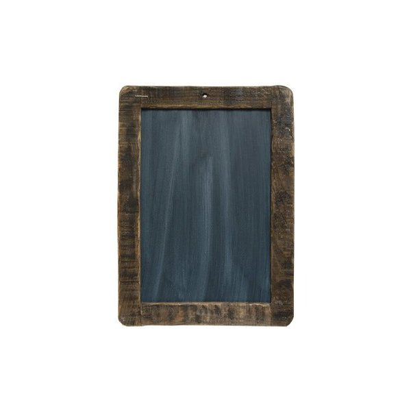 "Framed Blackboard - 13-3/4"" Primitive Country Rustic Chalkboard Messageboard Wall Decor"