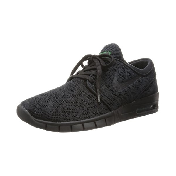 Nike Men's Stefan Janoski Max Black/Black/Pine Green Running Shoe 8.5 Men US