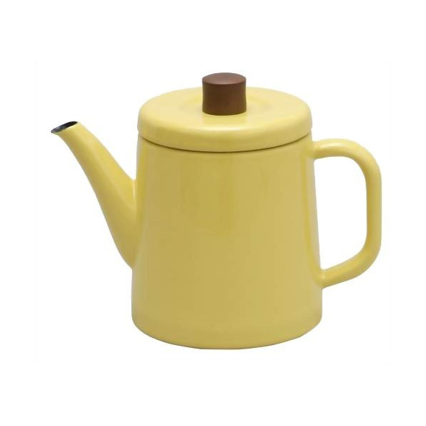 Noda Horo Enamel Pottle, Yellow