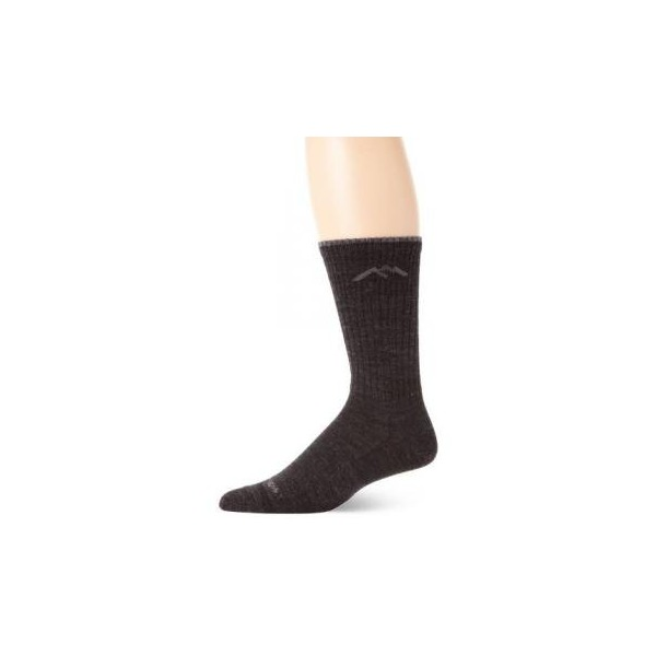 Darn Tough Vermont In-Town Series Men's Dress Crew Light Socks, Black, X-Large