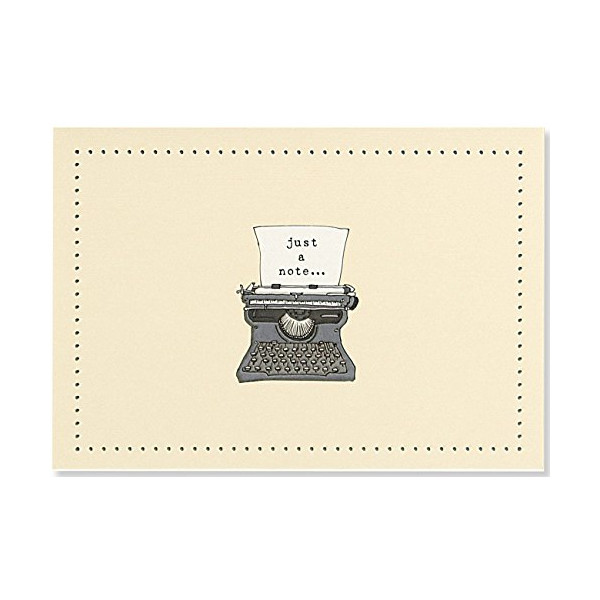 Typewriter Note Cards (Stationery, Boxed Cards)