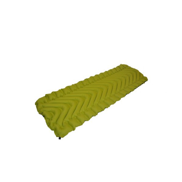 Klymit Static V Camping Mattress (Green-Grey, Large)
